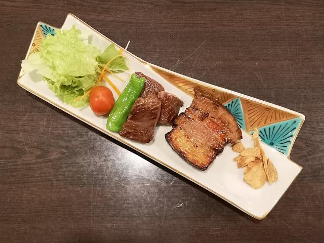 A5 Miyazaki Wagyu Beef + Hokkaido Pork