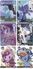 Kayou My Little Pony Trading Cards All Card Designs