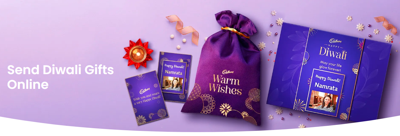 Get 10% off on personalized Cadbury Diwali Gifts. Use code JOY10 and Order Now!