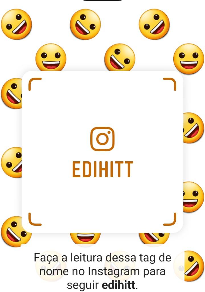edihitt: palavra (tag)  chave, para seguir no instagram