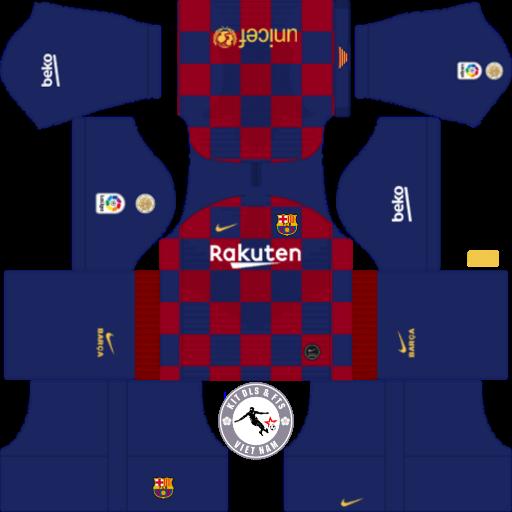 Kits FC Barcelona 2019 - 2020 Dream League Soccer 2019 & First Touch Soccer