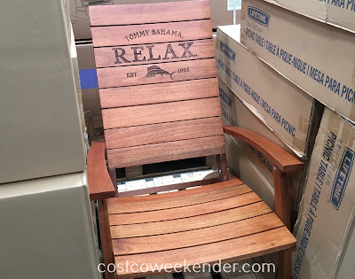 Tommy Bahama Folding Adirondack Chair Costco Weekender