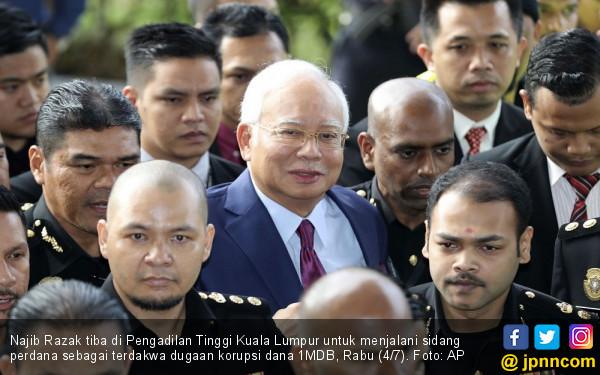 Mengaku Bangkrut, Najib Cuma Mampu Bayar Rp 3,5 Miliar