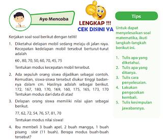 Kunci Jawaban Halaman 171 Buku Senang Belajar Matematika Kelas 6 www.simplenews.me