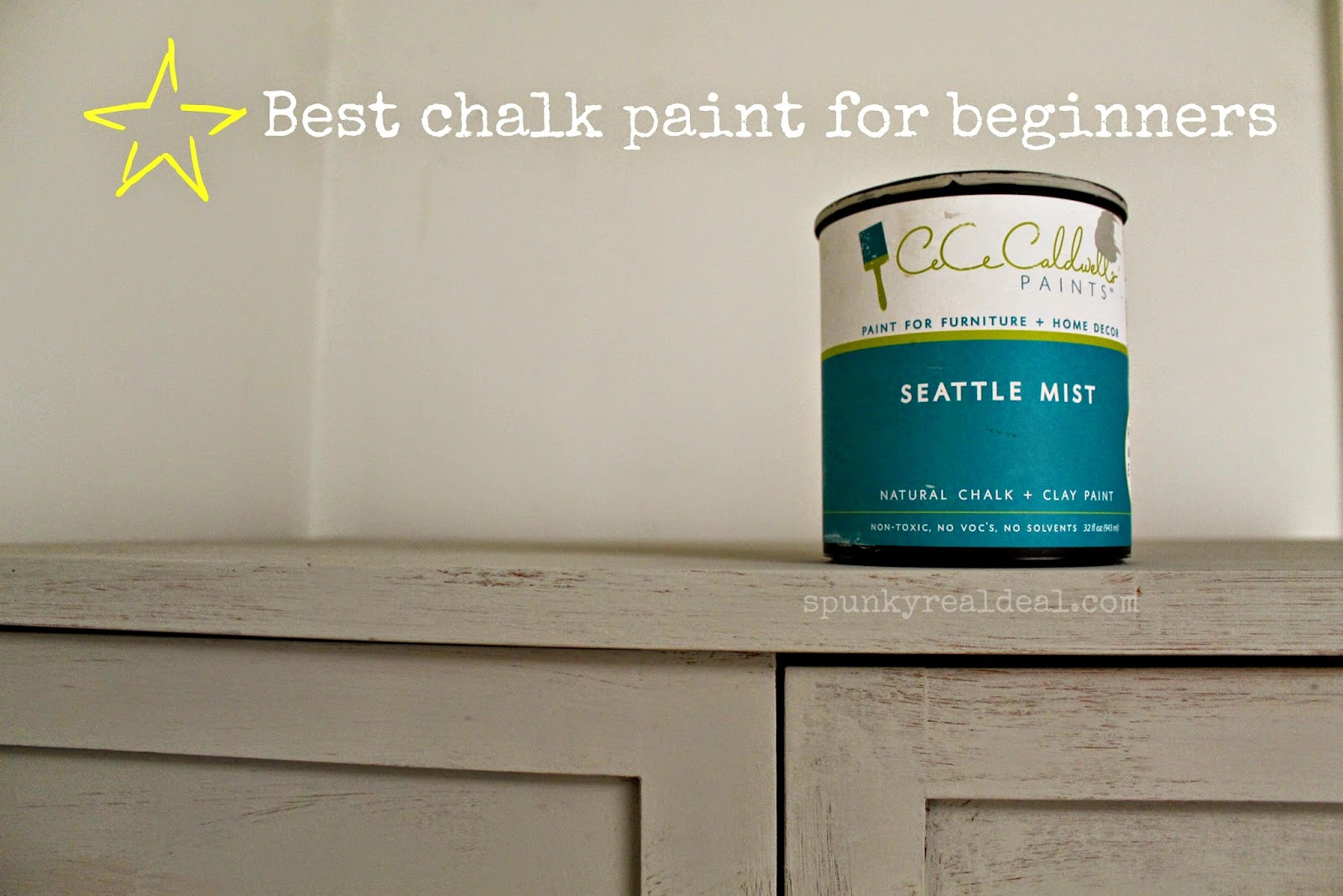 CeCe Caldwell's natural chalk and clay paint