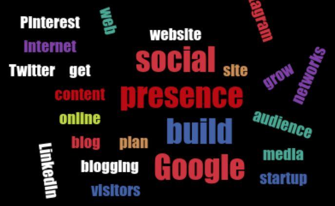 Five steps for building web presence