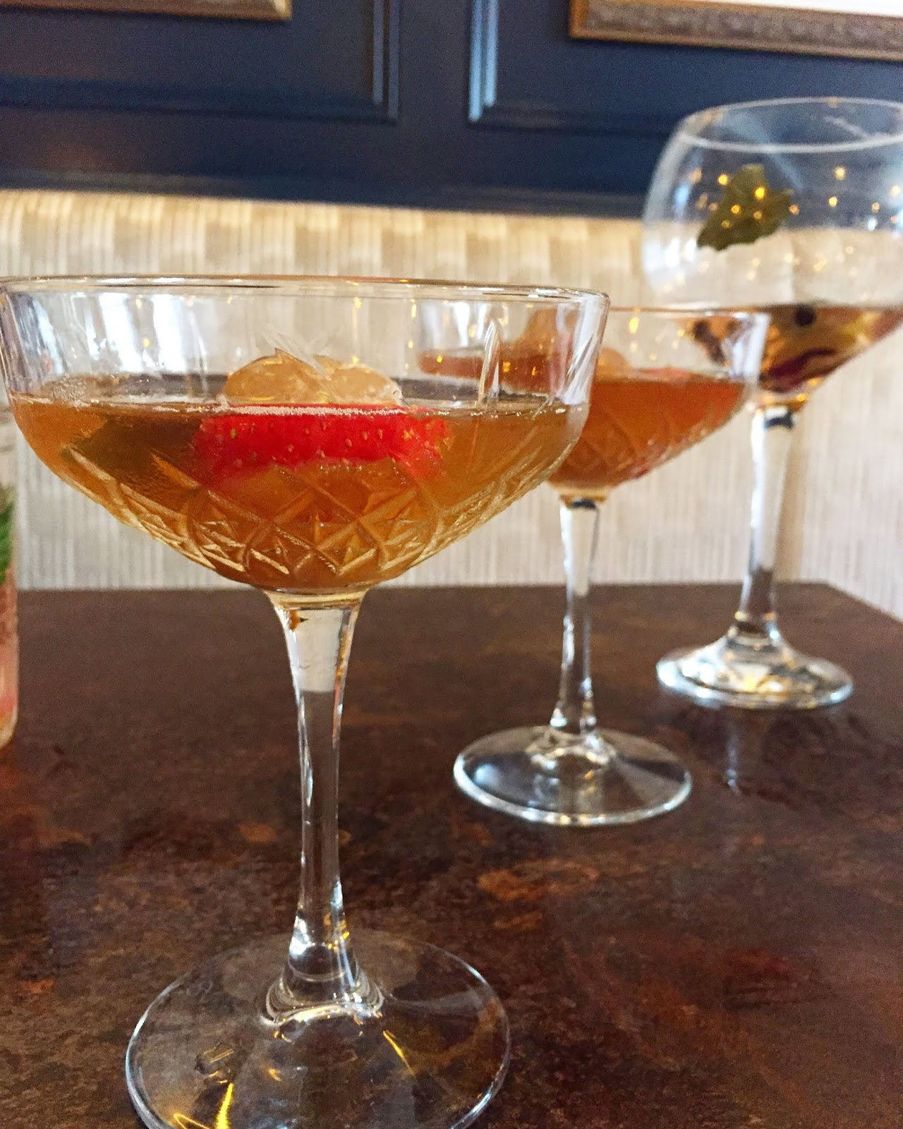 Gin and Oolong Tea Martini