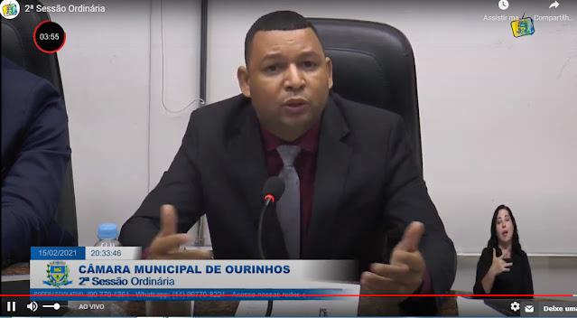 Vereador Éder Mota apresenta requerimento para abertura de hospital em Ourinhos