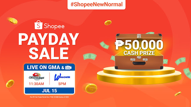 Catch the Shopee Payday Sale TV Segment on Eat Bulaga and Wowowin for a Chance to Win ₱50,000 Cash Prize
