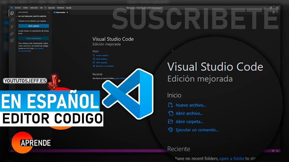 Descargar Visual Studio Code Ultima Versión Español GRATIS | Editor de Código