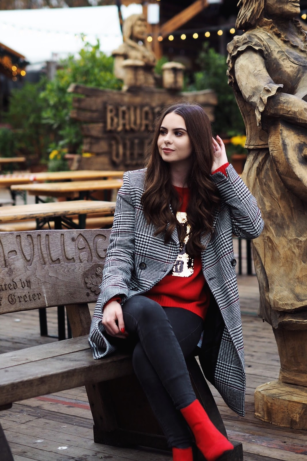 Pretty Little Thing Christmas jumpers winter wonderland 2017