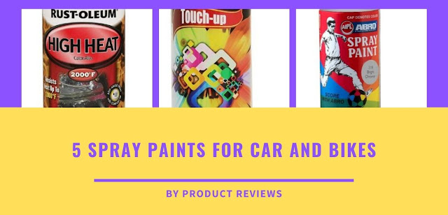 5 Spray paints for car and bikes - Need for spray paint