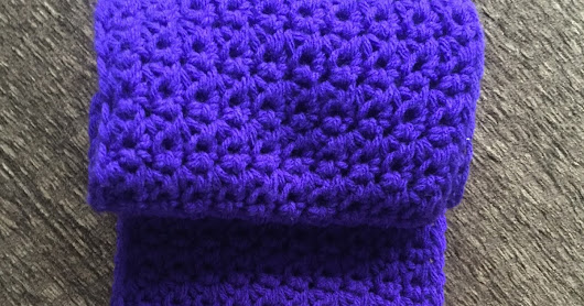 Great Grit Stitch Scarf