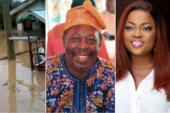 JUST IN; Funke Akindele Blessed Pa James with a new House