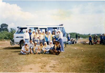 Kenangan Jumbara Tahun 2006 Lokasi Lapangan Desa Trisi | Mas Dedi