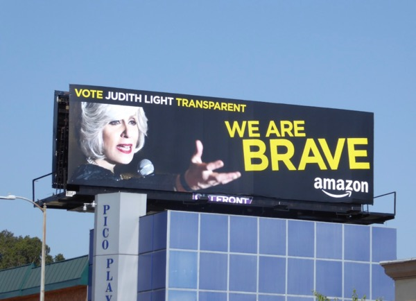 Judith Light Transparent We are Brave Emmy billboard
