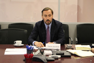 Andrey Mushkarev, newly-appointed chair of the St. Petersburg Committee for Tourism Development
