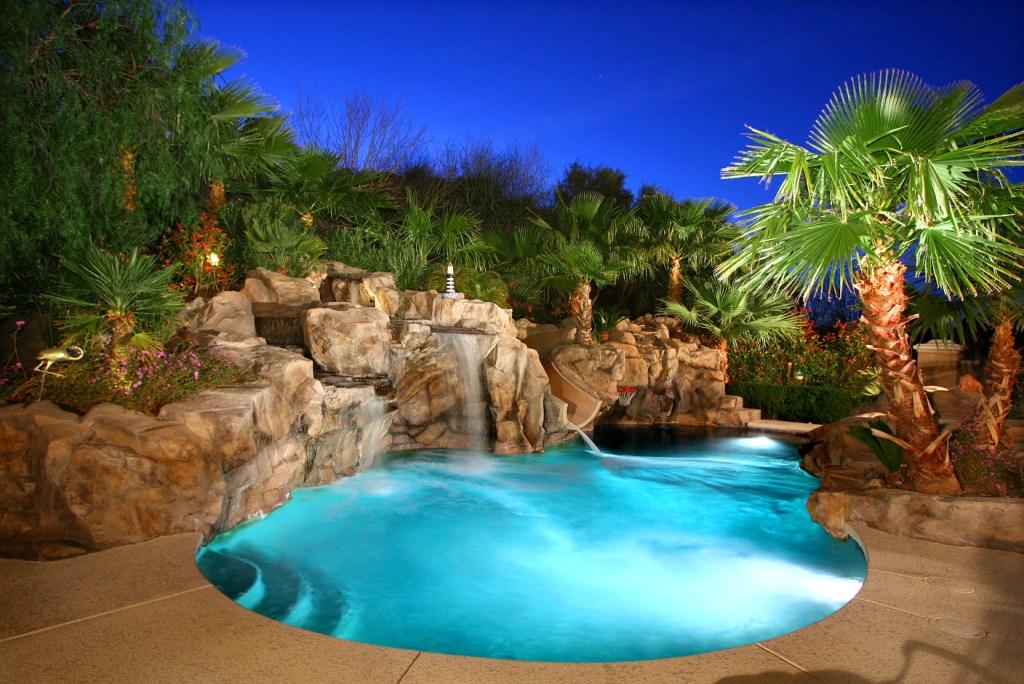 Lake Las Vegas Awesome Custom Home On 17th Green @ South ...