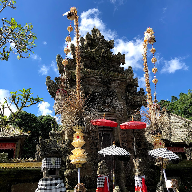 Penataran temple at Panglipuran Village, Bangli, Bali, Indonesia