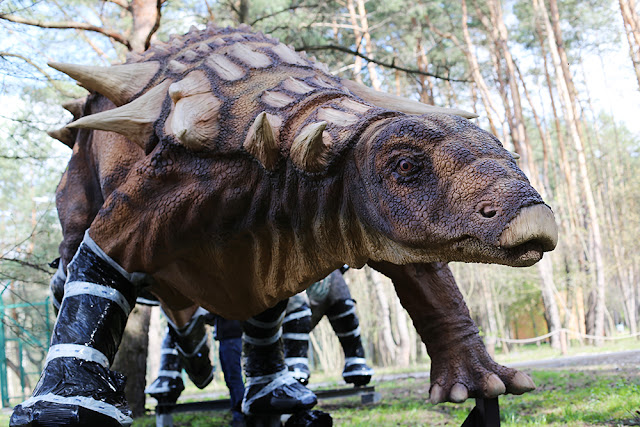 В Белгороде появились динозавры