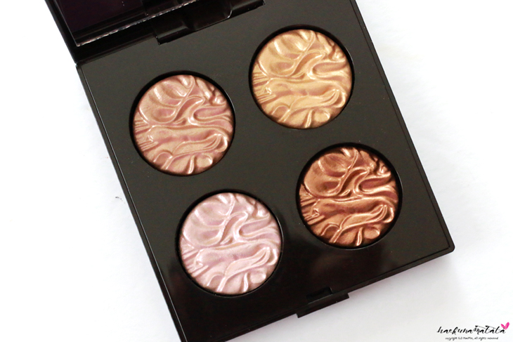 Laura Mercier Fall in Love Face Illuminator Collection Review, Swatches & FOTD : Indiscretion Addiction Devotion Seduction