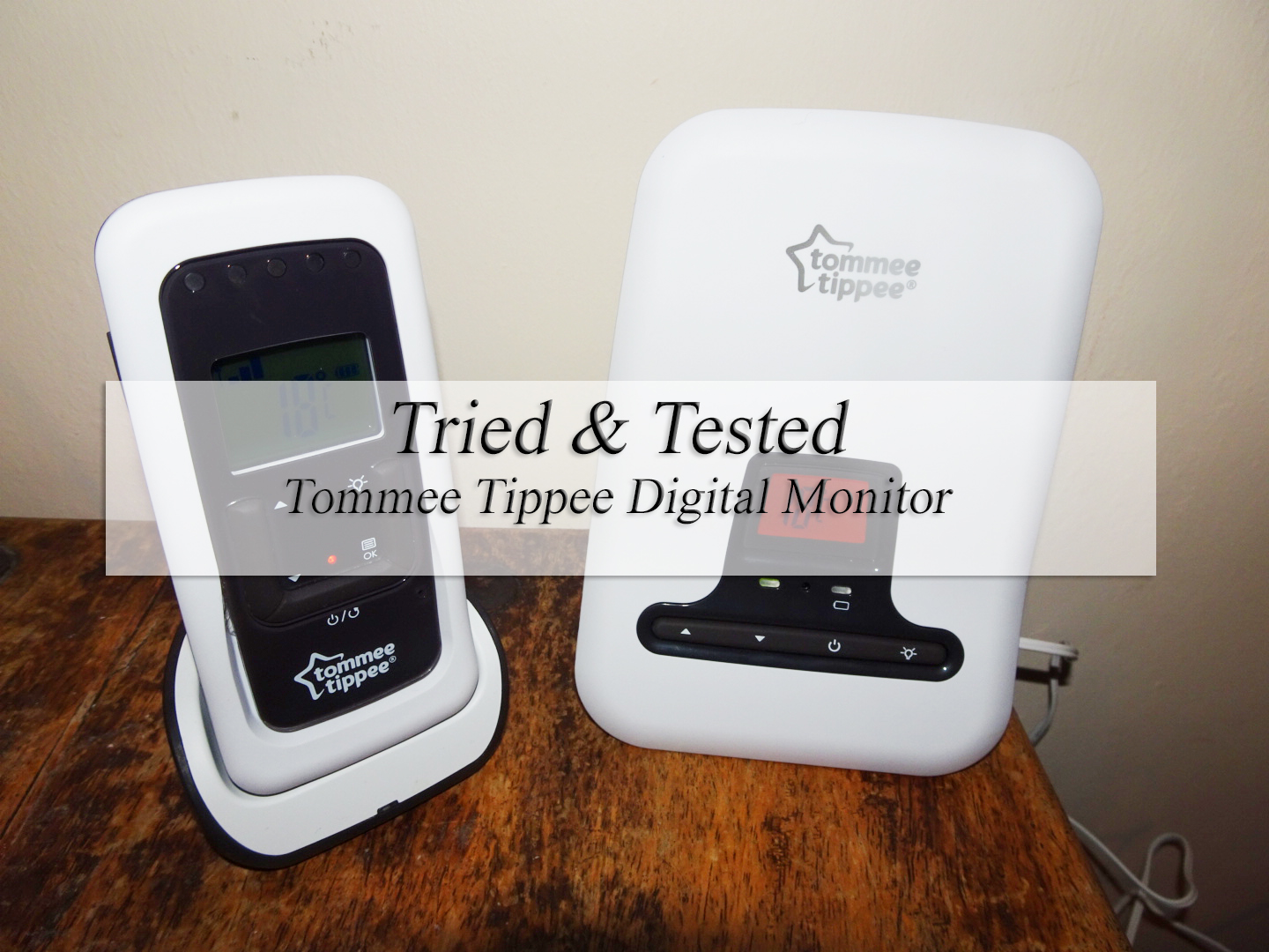 tried tested tommee tippee baby monitor. Black Bedroom Furniture Sets. Home Design Ideas
