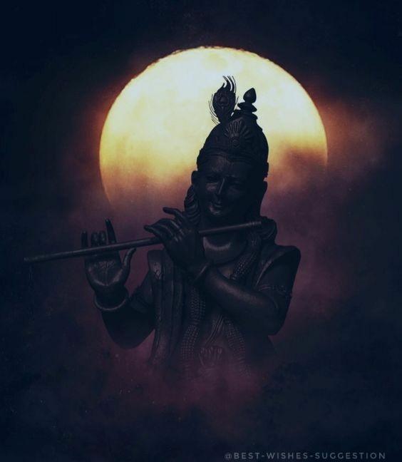 Krishna-blackandwhite-image