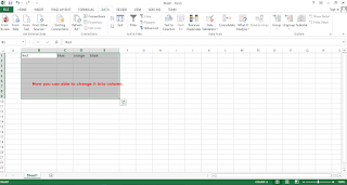 Convert text to column in excel