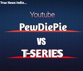 Pewdiepie Youtube VS T-Series Youtube Channel, Pewdiepie