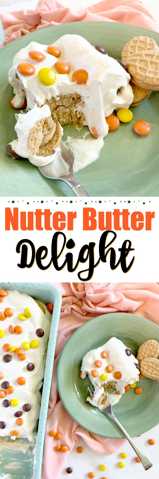 Nutter Butter Delight #sweetsavoryeats