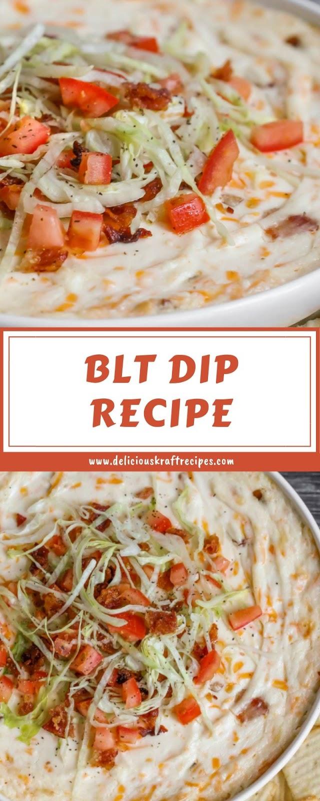 BLT DIP RECIPE