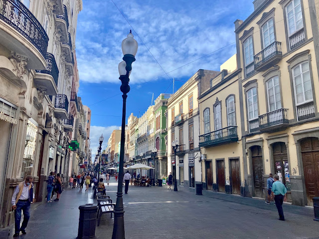 Triana shopping street, Las Palmas, Gran Canaria, Spain