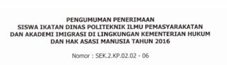 Informasi Lowongan Kerja CPNS Terbaru Dinas Kementerian Hukum Dan HAM Republik Indonesia Ikatan Dinas