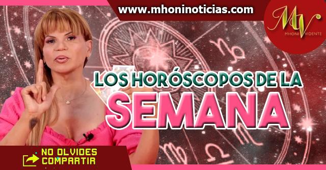 Los horóscopos de la semana del 1 al 4 de Febrero del 2021 - Mhoni Vidente
