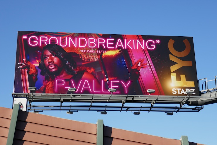 P-Valley Groundbreaking FYC billboard