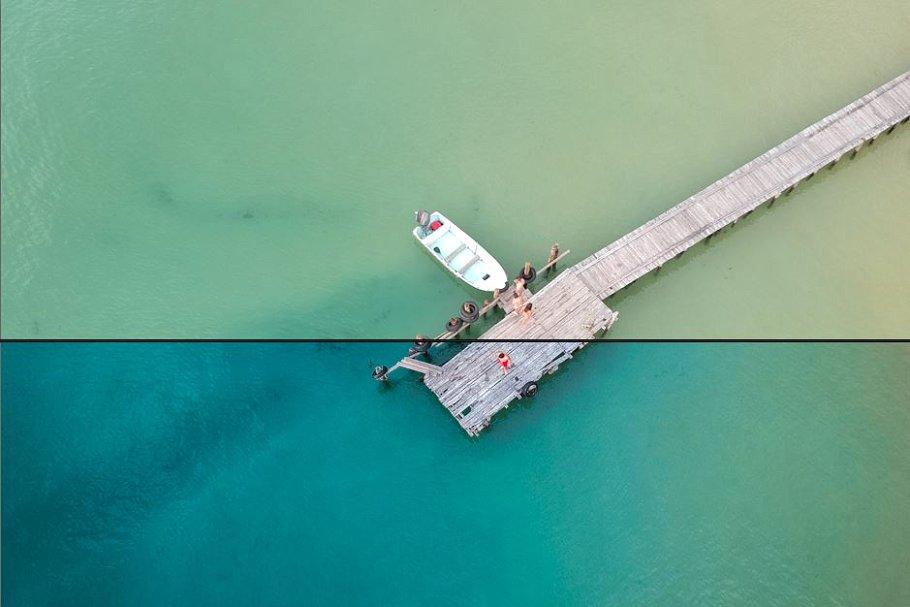 Lightroom Presets Desktop Aerial Drone Travel – Aerial Vibe LR Preset Collections (LR)