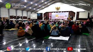 LEDMA Al-Farabi Gelar Tabligh Akbar bersama Majlis Burdah Ar-Ridwan Nisa