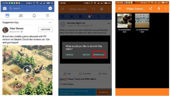 Cara Download Video dari Facebook di Android