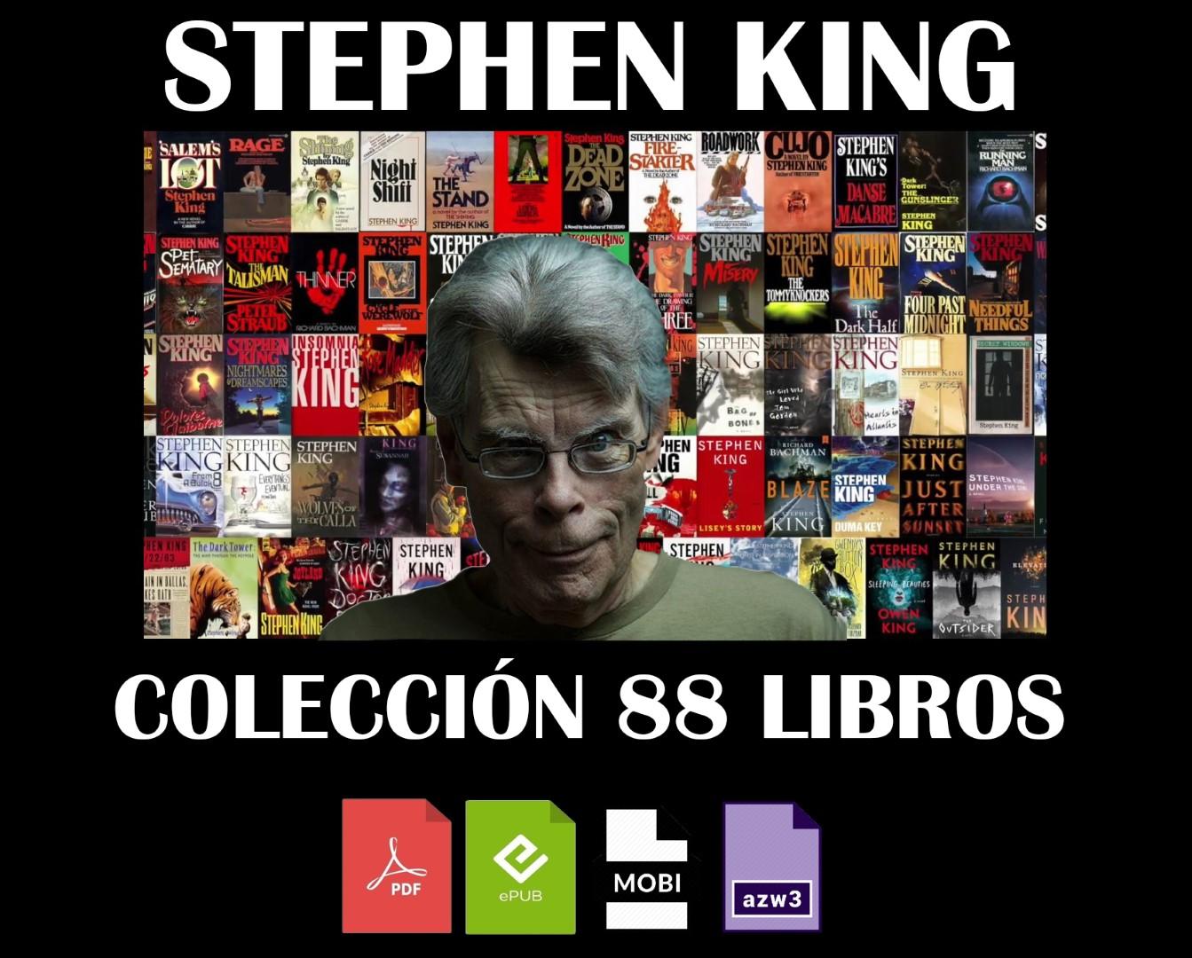 Tienda Ebook King Stephen Coleccion 88 Libros Cod 046 Epub Mobi Pdf Azw3