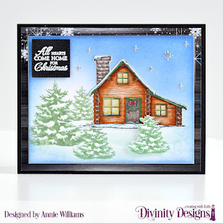 Stamp Die Duos: Home for Christmas, Custom Dies: Christmas Dove, Pierced Rectangles, Pierced Squares, Paper Collections: Rustic Christmas, Christmas 2018