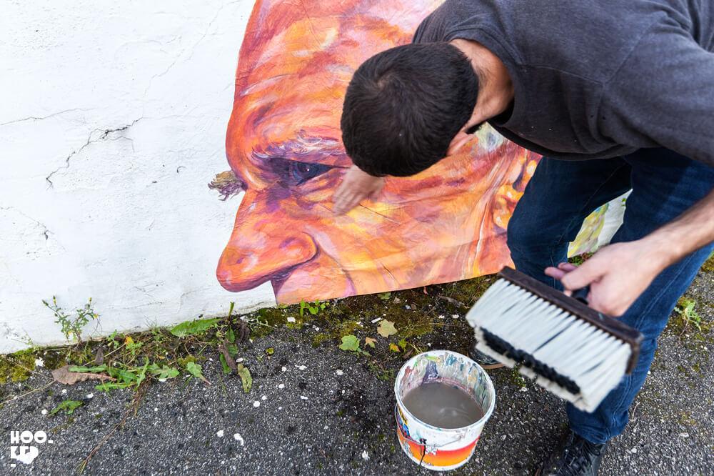 Hitting the streets of Stavanger with artist NDA