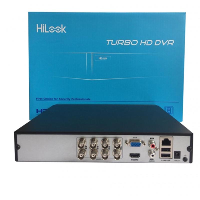Full BOX - Đầu ghi Camera IP Hilook 8 kênh chính hãng tại Bến Tre