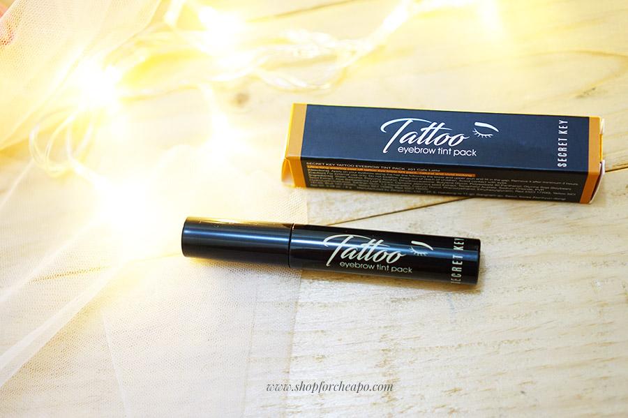 secret key tatto eyebrow tint pack