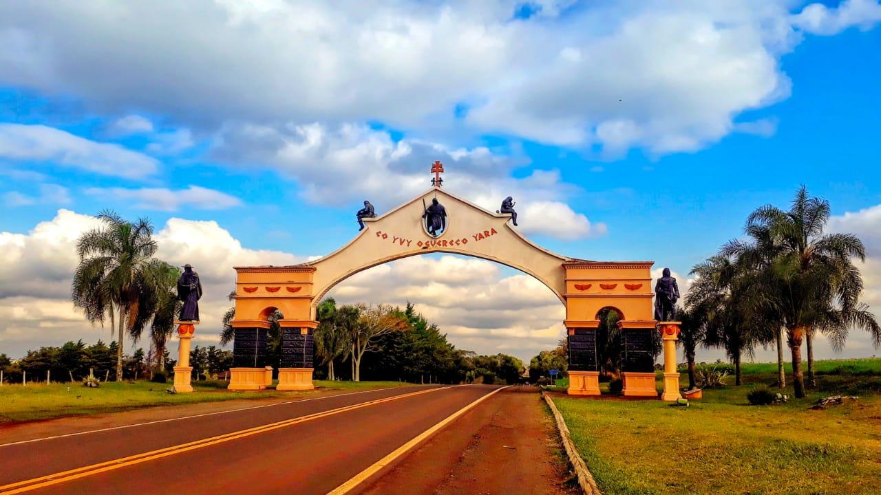 Pórtico de entrada de São Miguel das Missões