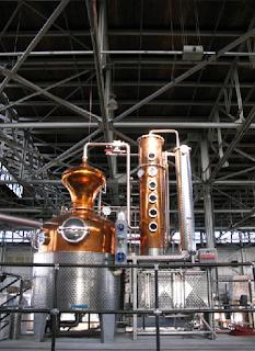 destilação e retificação da vodka