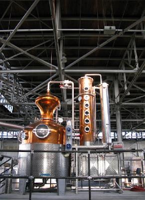 destilação e retificação da vodka vodca