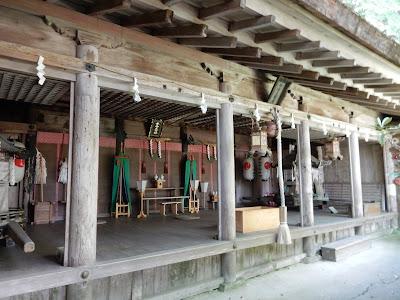 吉野山:吉野水分神社幣殿