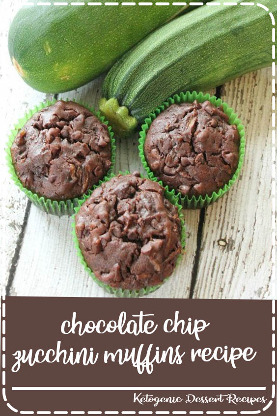 chocolate chip zucchini muffins recipe