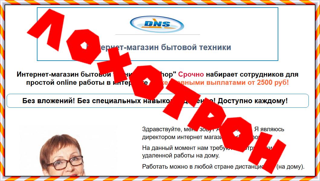 """Интернет-магазин бытовой техники """"DNShop"""" Отзывы"""