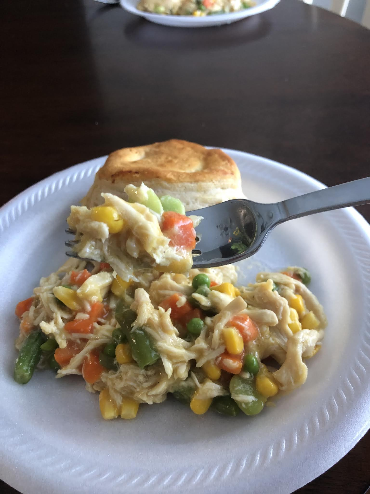 four ingredient chicken pot pie